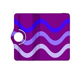Purple Waves Kindle Fire HDX 8.9  Flip 360 Case