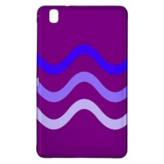 Purple Waves Samsung Galaxy Tab Pro 8.4 Hardshell Case