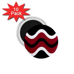Decorative waves 1.75  Magnets (10 pack)