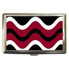Decorative waves Cigarette Money Cases