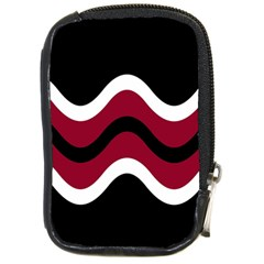 Decorative waves Compact Camera Cases