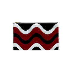 Decorative waves Cosmetic Bag (Small)