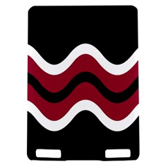 Decorative waves Kindle Touch 3G