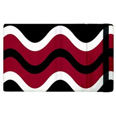 Decorative waves Apple iPad 2 Flip Case