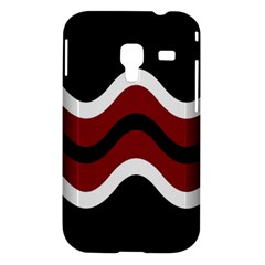 Decorative waves Samsung Galaxy Ace Plus S7500 Hardshell Case