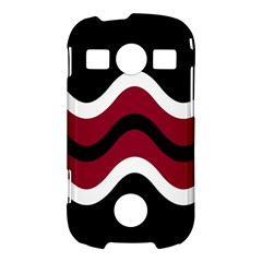 Decorative waves Samsung Galaxy S7710 Xcover 2 Hardshell Case