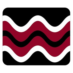 Decorative waves Double Sided Flano Blanket (Small)