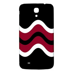 Decorative waves Samsung Galaxy Mega I9200 Hardshell Back Case