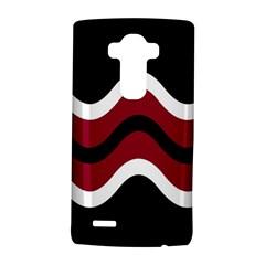 Decorative waves LG G4 Hardshell Case