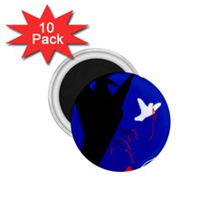 Night birds  1.75  Magnets (10 pack)