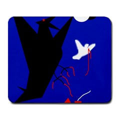 Night birds  Large Mousepads