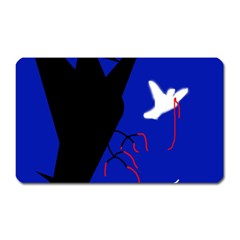 Night birds  Magnet (Rectangular)