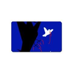 Night birds  Magnet (Name Card)