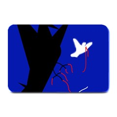 Night birds  Plate Mats