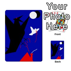 Night birds  Multi-purpose Cards (Rectangle)