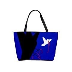 Night birds  Shoulder Handbags