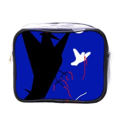 Night birds  Mini Toiletries Bags