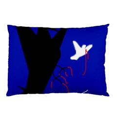 Night birds  Pillow Case (Two Sides)