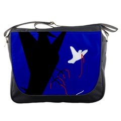 Night birds  Messenger Bags