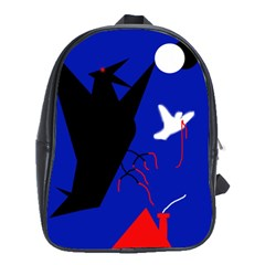 Night birds  School Bags (XL)