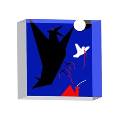Night birds  4 x 4  Acrylic Photo Blocks