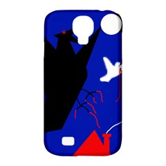 Night birds  Samsung Galaxy S4 Classic Hardshell Case (PC+Silicone)