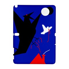 Night birds  Samsung Galaxy Note 10.1 (P600) Hardshell Case
