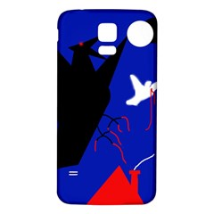 Night birds  Samsung Galaxy S5 Back Case (White)