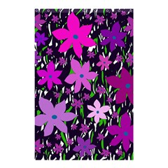 Purple Fowers Shower Curtain 48  x 72  (Small)