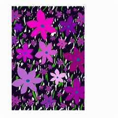Purple Fowers Large Garden Flag (Two Sides)