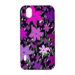 Purple Fowers LG Optimus P970