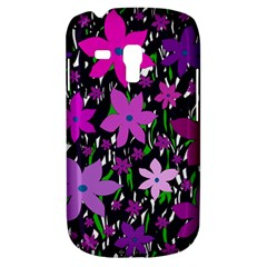 Purple Fowers Samsung Galaxy S3 MINI I8190 Hardshell Case