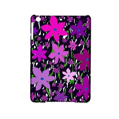 Purple Fowers iPad Mini 2 Hardshell Cases