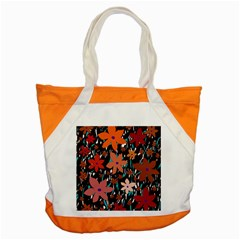 Orange flowers  Accent Tote Bag