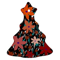 Orange flowers  Ornament (Christmas Tree)