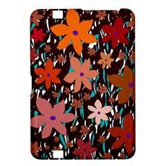 Orange flowers  Kindle Fire HD 8.9