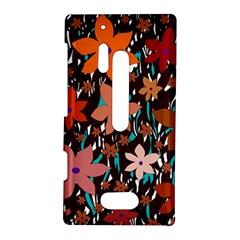Orange flowers  Nokia Lumia 928