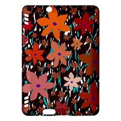 Orange flowers  Kindle Fire HDX Hardshell Case