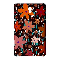 Orange flowers  Samsung Galaxy Tab S (8.4 ) Hardshell Case