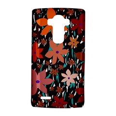 Orange flowers  LG G4 Hardshell Case