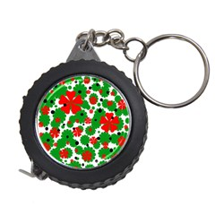 Red and green Christmas design  Measuring Tapes