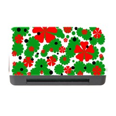 Red and green Christmas design  Memory Card Reader with CF