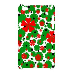 Red and green Christmas design  Apple iPod Touch 4