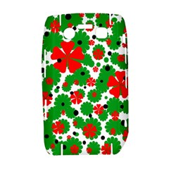 Red and green Christmas design  Bold 9700