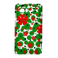 Red and green Christmas design  HTC Vivid / Raider 4G Hardshell Case