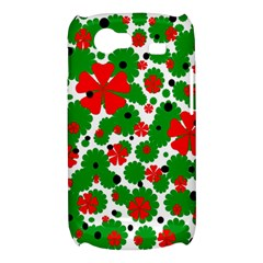 Red and green Christmas design  Samsung Galaxy Nexus S i9020 Hardshell Case