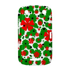 Red and green Christmas design  BlackBerry Curve 9380