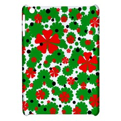 Red and green Christmas design  Apple iPad Mini Hardshell Case