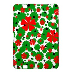 Red and green Christmas design  Kindle Fire HD 8.9