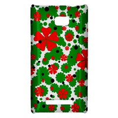 Red and green Christmas design  HTC 8X